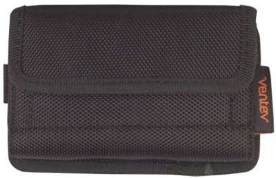 Universal Horizontal Rugged Pouch w/Clip, Black