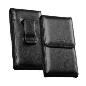 Ventev Large Universal Leather Pouch, Vertical.