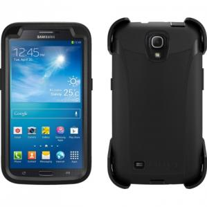 OtterBox DEFENDER Samsung Case w/Clip for Galaxy Mega 6.3 in Black/Black