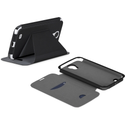 Case-Mate - Stand Folio Case Galaxy Mega 6.3 Black