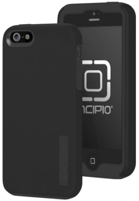 Incipio Technologies - DualPro Case for Apple iPhone 5s/5 in Black/Black