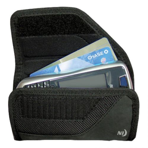 Nite-Ize Rugged Horizontal Clip Pouch for Medium Devices in Black