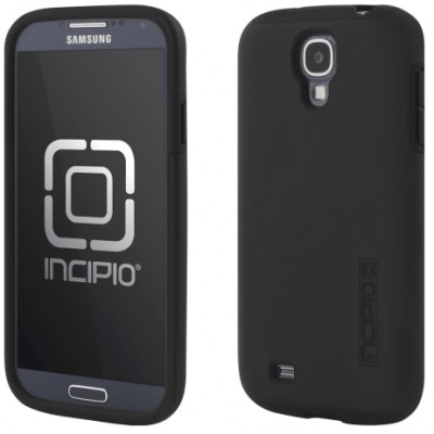 Incipio Technologies - DualPro Case for Samsung Galaxy S4 in BLK/BLK