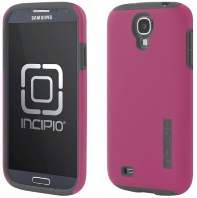 Incipio Technologies - DualPro Case for Samsung Galaxy S4 in PNK/GRY