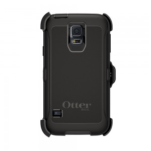 OtterBox DEFENDER Samsung Galaxy S5 Rugged Series Case w/Belt Clip - Black