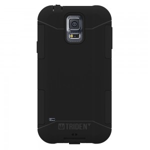 Trident Aegis Case Compatible with Samsung Galaxy S5 - Black