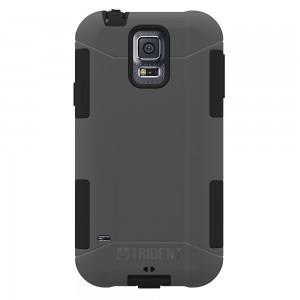 Trident Aegis Case Compatible with Samsung Galaxy S5 - Gray