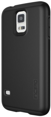 Incipio Technologies - DualPro Case for Samsung Galaxy S 5 in Black/Black