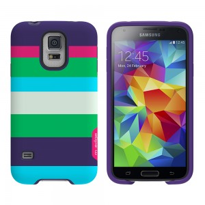 M-Edge Echo Case for Galaxy S5 - Summer Stripes