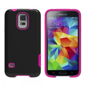 M-Edge Echo Case for Galaxy S5 - Black/Pink