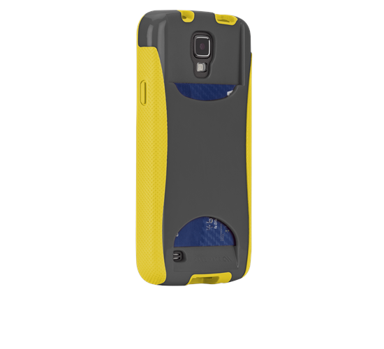 Case-Mate - Pop! ID Case for Samsung Active in Gray/Yellow