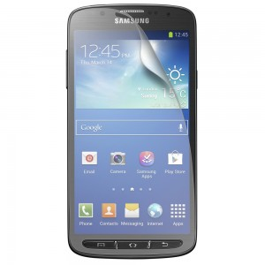 FITTED Screen Protector for Galaxy S4 Active