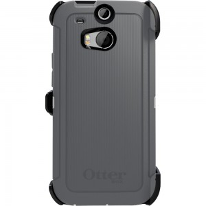 OtterBox DEFENDER w/Belt Clip Case, HTC One M8 - Glacier