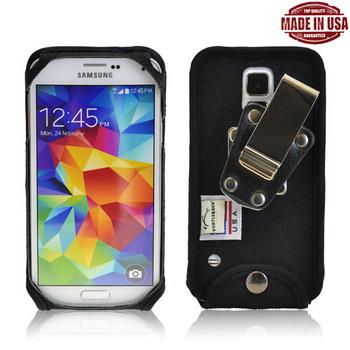 TurtleBack Samsung Galaxy S5 Nylon Case w/Metal Swivel Clip (HD)