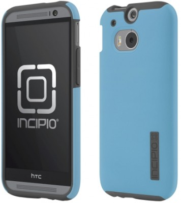Incipio  One (M8) DualPro Case, Cyan / Gray