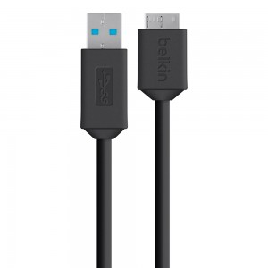 Belkin - MIXIT UP (4-Foot) Micro USB to USB Charge/Sync Cable, Black