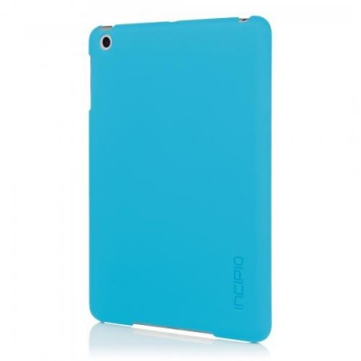 Incipio Technologies - Feather Case for Apple iPad Mini Retina Cyan Blue