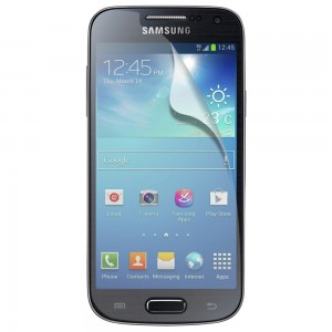 FITTED Screen Protector compatible with Samsung Galaxy S4 Mini
