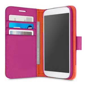 Belkin Trend Wallet Folio for Galaxy S 5, Azelea/ Fiesta