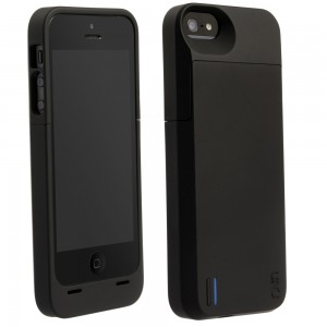 Apple Mfi iPhone 5 and 5S 2300mAh Power Pack Case, Black