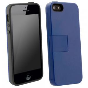 UMA Uflex Fusion Case iPhone 5/5S - Gray/Navy Blue
