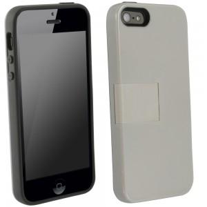 UMA Uflex Fusion Case iPhone 5/5S - Gray/Gray
