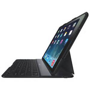 Belkin QODE Ultimate Wireless Keyboard and Case for iPad Air (Black)