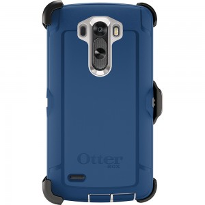 OtterBox DEFENDER Rugged Series Case w/Belt Clip For LG G3 (Blue Chill)