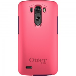OtterBox SYMMETRY Rugged Slim Case(No Belt Clip) For LG G3 (Crushed Damson)