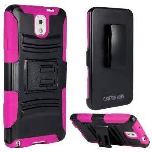 CASEFORMERS Duo Armor PINK/BLACK for Samsung Galaxy Light Combo Case with Stand and Holster