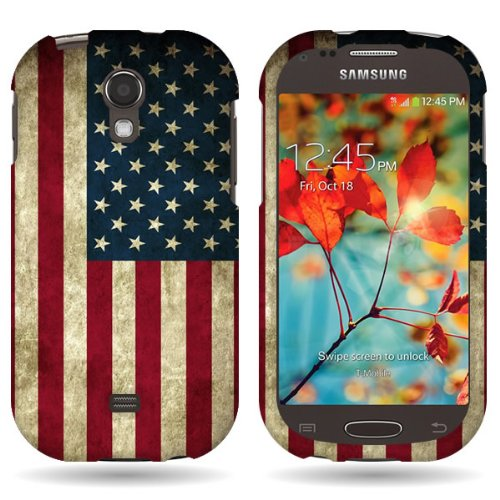 Samsung Galaxy Light Flag Series United States of America Snap-On Cover