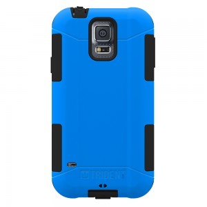 Trident Aegis Case Compatible with Samsung Galaxy S5 - Blue