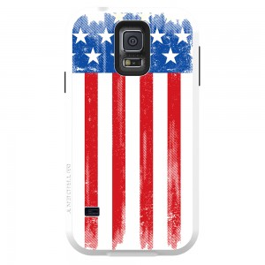 Trident Aegis Case Compatible with Samsung Galaxy S5 - American Flag