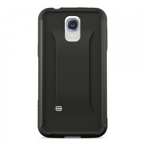 Belkin AIR PROTECT Grip Max case with Back for Samsung Galaxy S5 - Blacktop/Slate