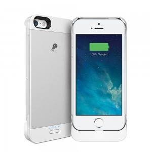 Xpal PowerSkin Spare 2000mAh for iPhone 5/5S - Silver