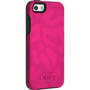 OtterBox SYMMETRY Case (No Belt Clip) for Apple iPhone 5/5S, Cheetah Pink