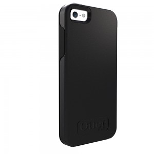 OtterBox SYMMETRY Case (No Belt Clip) for Apple iPhone 5/5S, Black