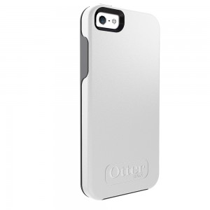 OtterBox SYMMETRY Case (No Belt Clip) for Apple iPhone 5/5S, Glacier