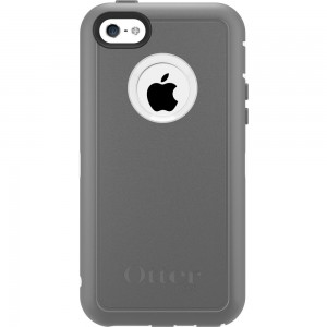 OtterBox DEFENDER Series Case w/Belt Clip For Apple iPhone 5C - Glacier