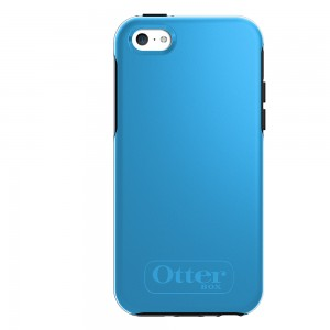 OtterBox SYMMETRY Case (No Belt Clip) for Apple iPhone 5C, Snow Cone Blue
