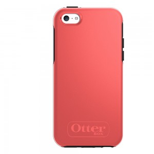 OtterBox SYMMETRY Case (No Belt Clip) for Apple iPhone 5C, Candy Pink