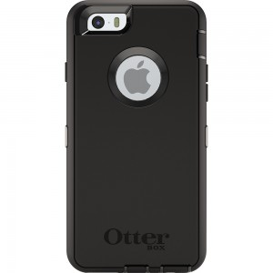 OtterBox DEFENDER Case for Apple iPhone 6/6S w/Clip (Black/Black)