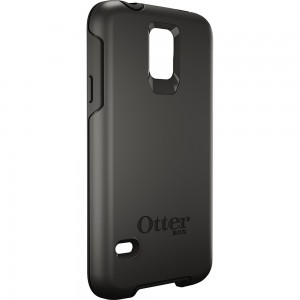 OtterBox SYMMETRY Case (No Belt Clip) for Samsung Galaxy S5, Black