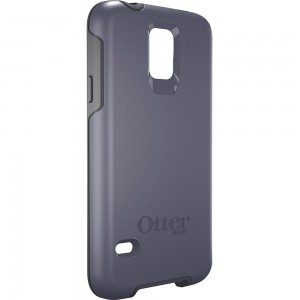 OtterBox SYMMETRY Case (No Belt Clip) for Samsung Galaxy S5, Denim Grey