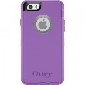 OtterBox DEFENDER Case for Apple iPhone 6 w/Clip (Plum Punch)