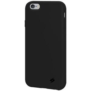 Premium iPhone 6/6S Silicone Skin Jelly Case - Black