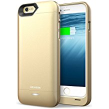 i-Blason Apple iPhone 6/7 3200mAh External Protective Battery Case (Gold)