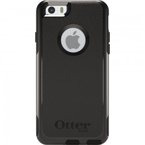 OtterBox COMMUTER Rugged Slim Case For Apple iPhone 6 (No Belt Clip)(Black)