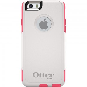 OtterBox COMMUTER Rugged Slim Case For Apple iPhone 6 (No Belt Clip)(Neon Rose)