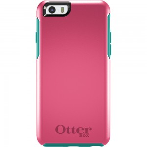 OtterBox SYMMETRY Case (No Belt Clip) for Apple iPhone 6, (Teal Rose)
